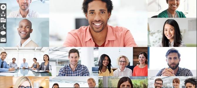 Videokonferenz auf jedem Endgerät und von jedem Ort